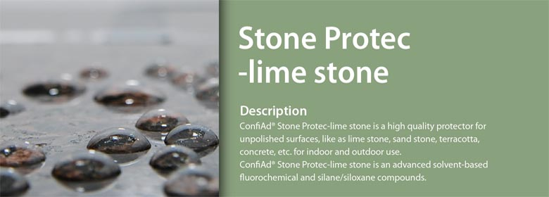Stone Protec is a high quality anti-stain impregnator for maximum protection of all stone surfaces against water, oil, fat, grease penetration. It contains very good water and-oil resistant components based on alkoxysilanes and luorocompounds.